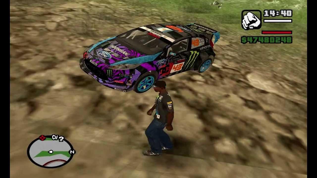 Gta Sa Ken Block S Hoonigan Division Cars And Clothes