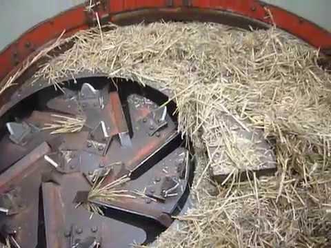 Kverneland Taarup Big Bale Straw Shredder Chopper