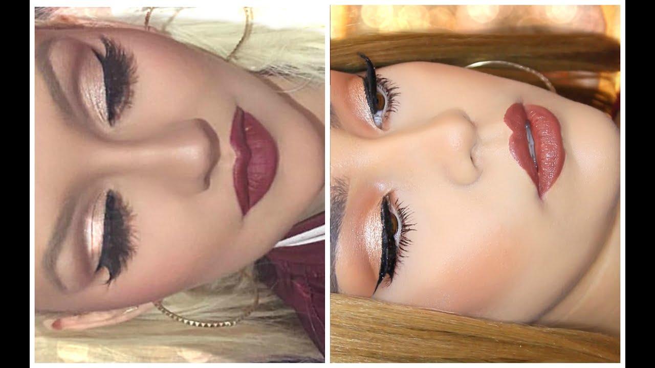 Christina aguilera holiday makeup tutorial | makeup.