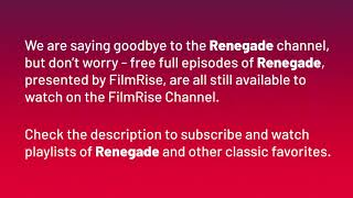 Renegade Announcement from FilmRise