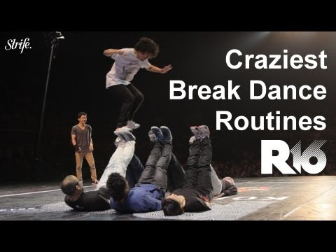 Craziest Dance Routines!!!! @ R16 Korea 2013