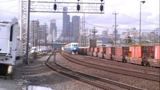 SOUNDER Commuter Trains, Seattle @ Coach Wye