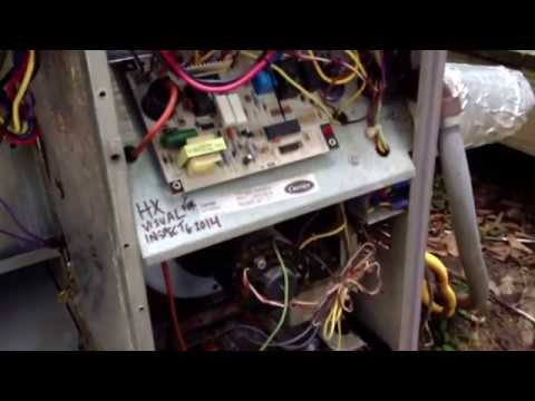 Tallahassee, Fl HVAC Carrier gas pack cleaning