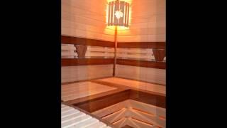 Красивая Баня с дровяной печкой Harvia Legend 240(Вот такую красивую парилку мы построили. В ней организован анатомический лежак, установлена красивая шайка..., 2015-10-17T13:07:28.000Z)