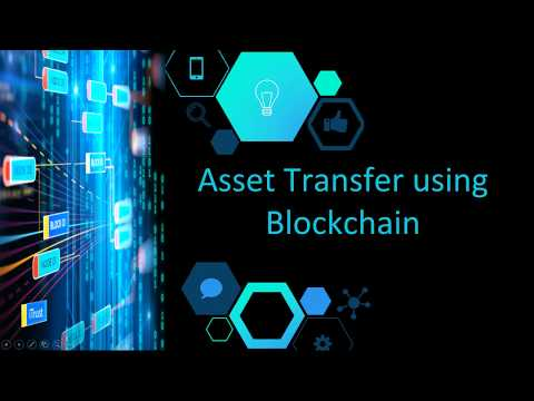 Blockchain Digital asset lifecycle