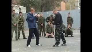 Штурмовой бой ГРОМ. Видеоурок. Скоростные удары ногами