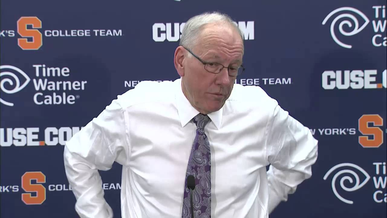 Head Coach Jim Boeheim Comments On Win Over Nc State Syracuse
