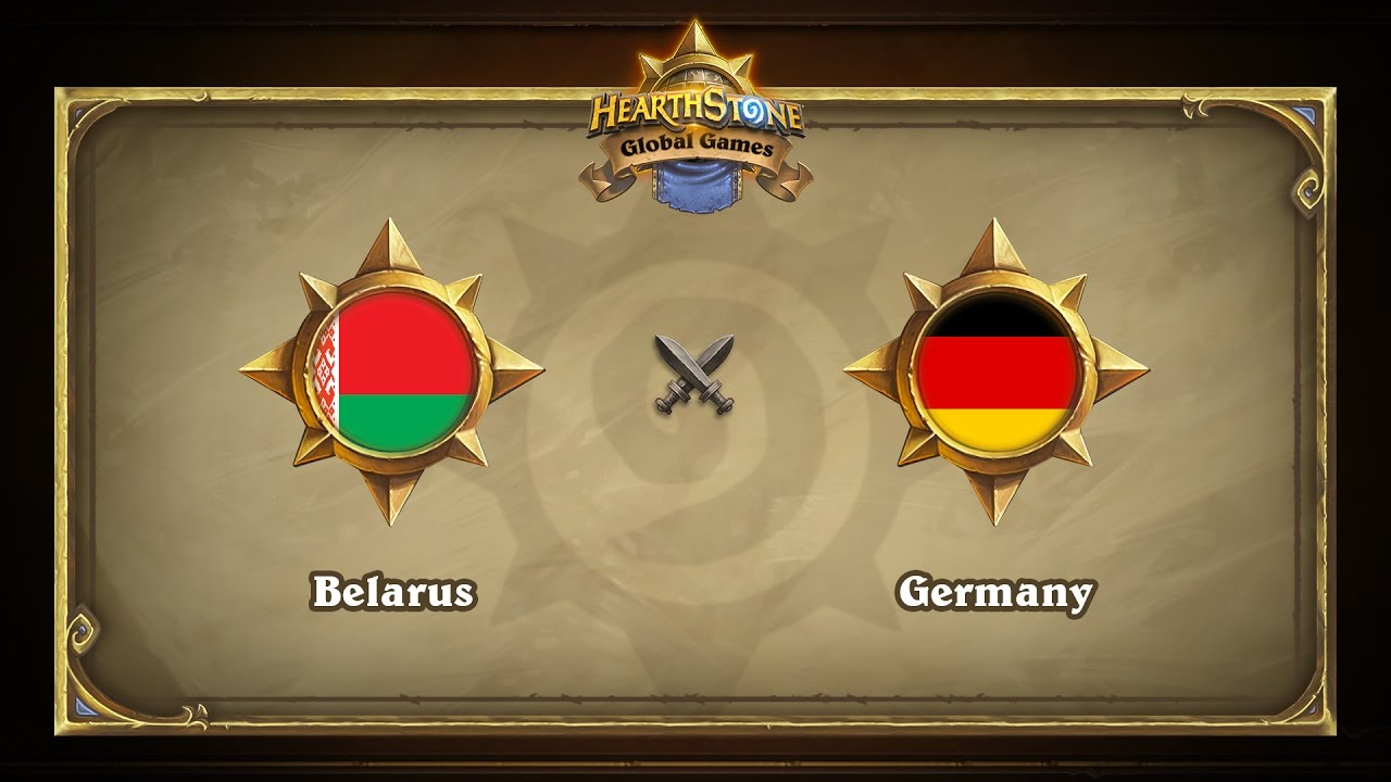 Беларусь vs Германия | Belarus vs Germany | Hearthstone Global Games (17.05.2017)