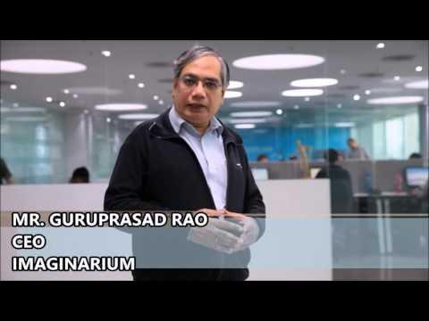 Guruprasad Rao, CEO, Imaginarium sharing his thought on 3D PRINTING WORLD NEWS EXPRESS