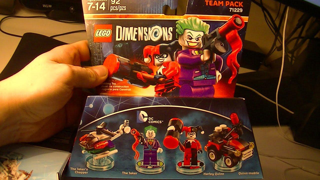 lego dimensions the joker and harley quinn team pack. Black Bedroom Furniture Sets. Home Design Ideas
