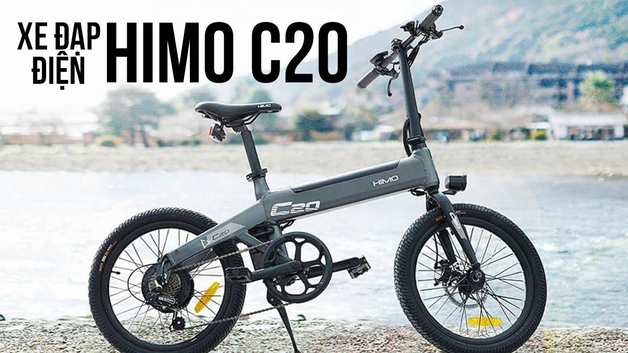 Xe đạp điện Himo C20: Có cả bơm siêu nhỏ phía trong xe