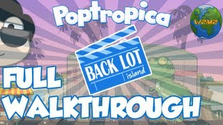 Poptropica - Back Lot Island FULL Walkthrough