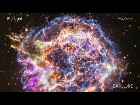 """Watch: The Latest Look At """"First Light"""" From NASA's Chandra"""