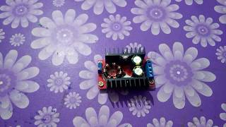 Step up boost converter DC - DC bulk UNBOXING.