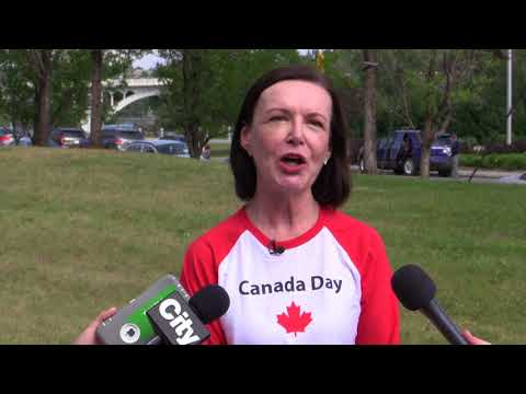 [RAW COVERAGE] Canada Day Celebrations In Calgary