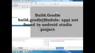 build.gradle(Module: app)  in android studio project