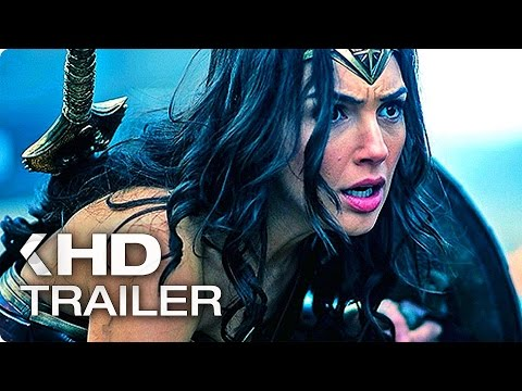 WONDER WOMAN Trailer 2 Teaser & TV Spot (2017)