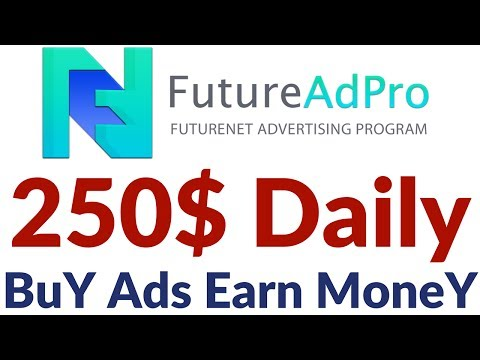 FutureAdpro FutureNet English Plan Without Referrals Make Money Online English Full Plan Details