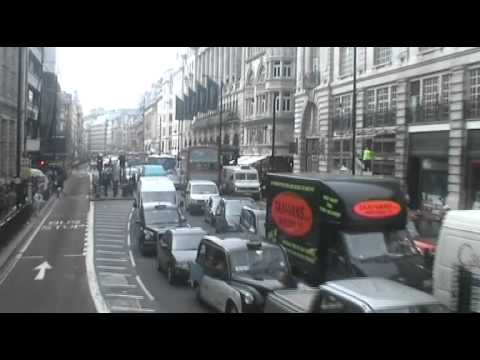 RMs on route 19 Shaftesbury Avenue to Piccadilly last day