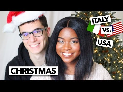 Italy vs. USA   Christmas and the Holiday Season w/ Enrico