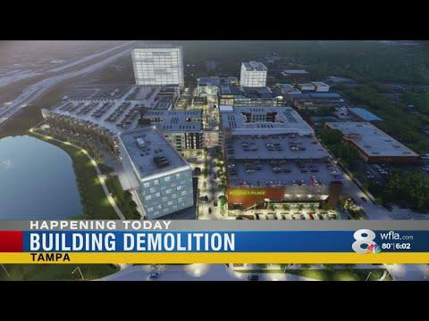 Tampa building demolition