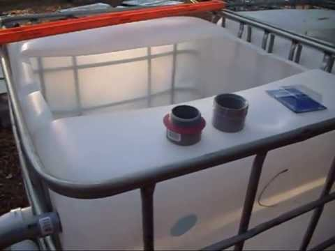 Sistem For Aquaponic 50 Gallon Drum Aquaponics