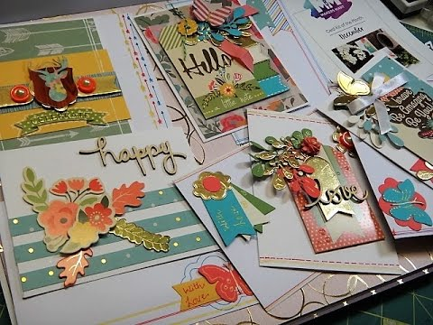 1 kit 10 and more Cards MAKERS MART DECEMBER CARD KIT -PART1 ( FOR BEGINNERS)