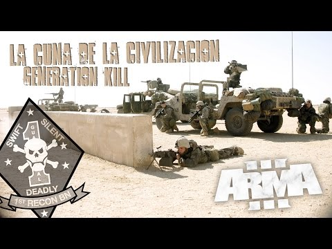 Arma 3 - Gamplay - Generation Kill - Marines Iraq - La cuna