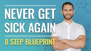 Never Get Sick Again: Boost Your Immune System (8 Step Blueprint)