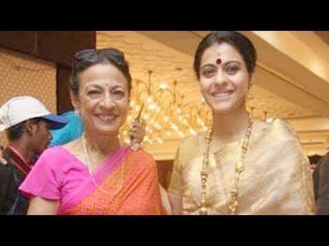 Kajol Visits The North Bombay Sarbojanin Durga Puja !