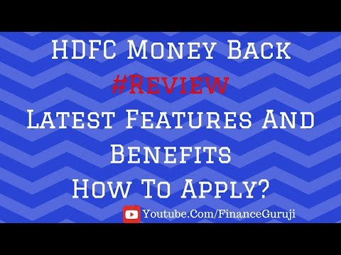 What Benefits Are You Getting In HDFC Bank Money Back Card?🙄