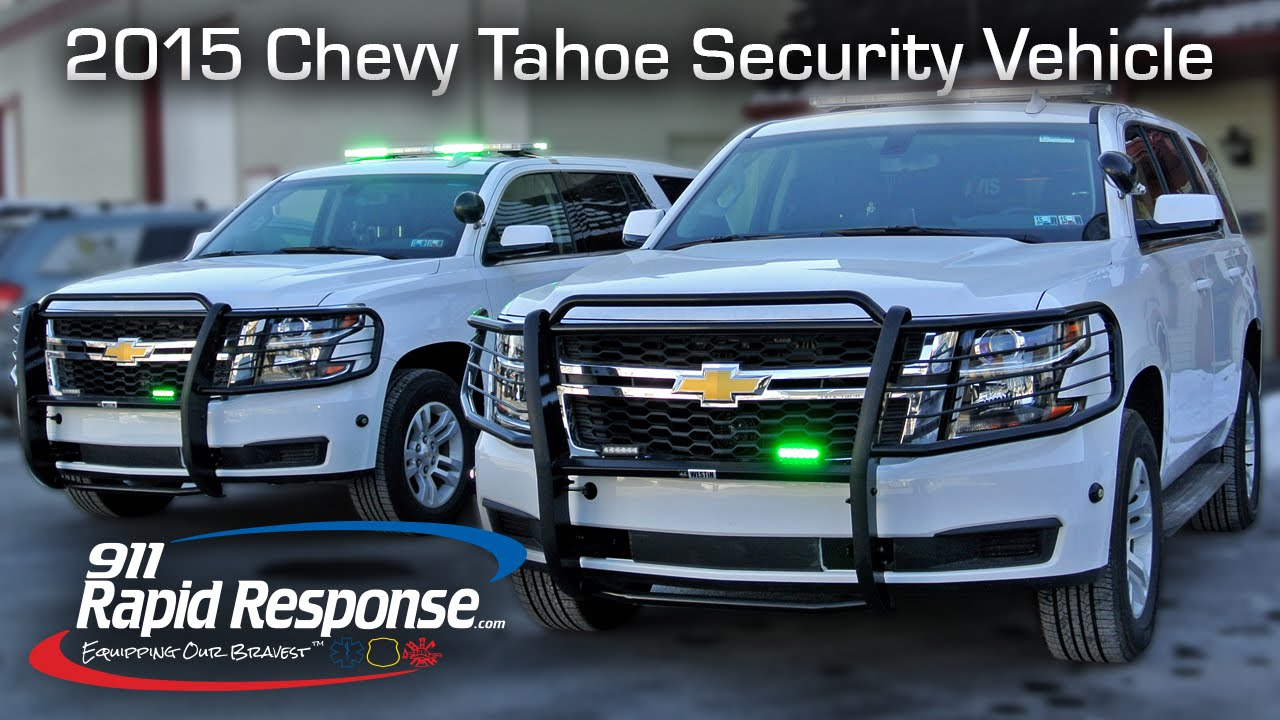 2015 chevy tahoe security vehicle 911rr youtube aloadofball Images