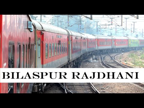 NEW DELHI - GONDIA | Complete Journey On Board RAJDHANI EXPRESS