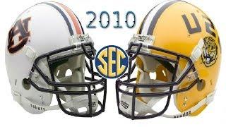 #4 Auburn vs #6 LSU - 2010