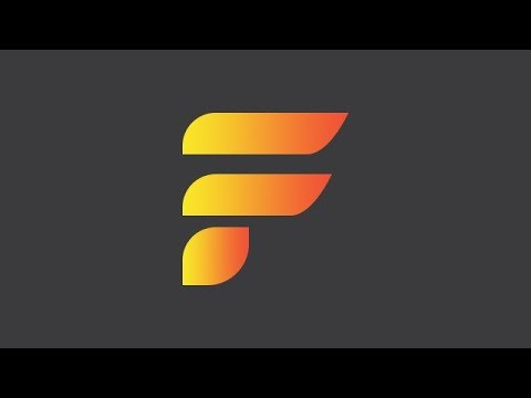 How To Design An Alphabet Letter F Logo In Photoshop