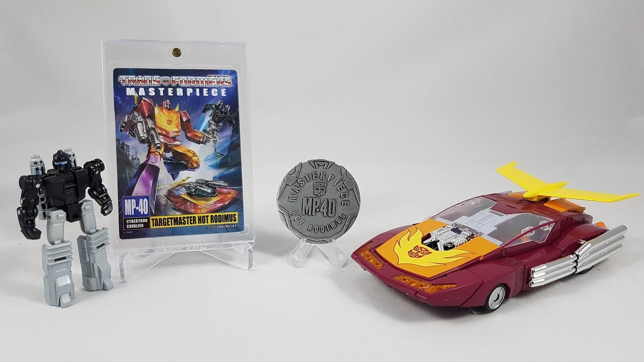 TRANSFORMERS MASTERPIECE MP-40 TARGETMASTER HOT RODIMUS ACTION FIGURES TOY