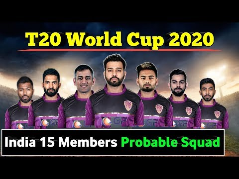 T20 World Cup 2020   India 15 Members Probable Team Squad