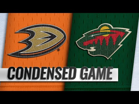 02/19/19 Condensed Game: Ducks @ Wild