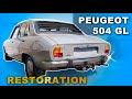 FIXING AN OLD CAR : PEUGEOT 504 RESTORATION  (episode 1)
