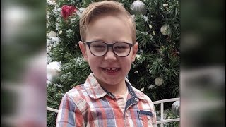 Legally blind 5-year-old boy left behind in school van, police say