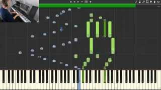 Naruto - Sadness and Sorrow [Synthesia] (piano tutorial, midi download)