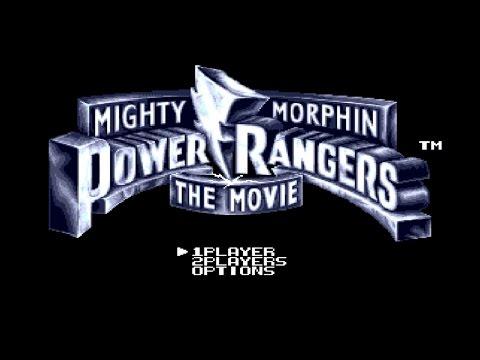 Прохождение SEGA игр - часть 3 - Mighty Morphin Power Rangers: The Movie (1995) - Walkthrough