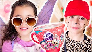 Welcome to OUR Ultimate Tea Party With The Awesome Itty Bitty Prettys!