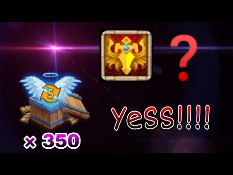 Blade Dance | Rolling 350 Level 5 Chest | Crazy Session... | Castle Clash