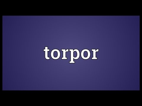 Torpor Meaning