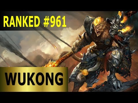 Wukong Jungle - Full League of Legends Gameplay [German] Lets Play LoL - Ranked #961