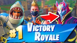 Fortnite-SEASON 5! NOUVEAU SKINS TOMORROW!? NOUVELLE DANSE ! LET'S CLIMB THE NINJA! -Sols et escouades
