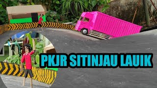 Download NGAKAK Liat PKJR sitinjau Lauik versi miniatur truk kardus