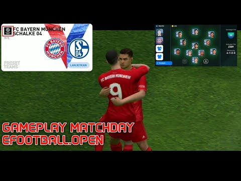 Gameplay Matchday eFootball.Open - eFootball Pes 2020 mobile - 동영상