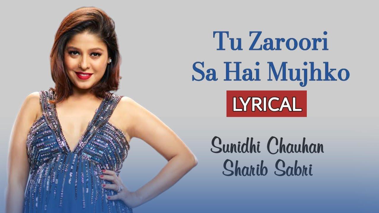 Download Tu Zaroori Sa Hai Mujhko (LYRICS) - Zid | Sunidhi Chauhan, Sharib Sabri | Sharib-Toshi, Shakeel Azmi